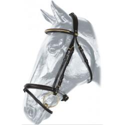 Uzdečka Kentaur, půlválečky, mosaz
