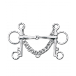 Udidlo Pelham Waldhausen SS solid,13,5cm