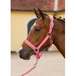 HKM ohlávka Sweetheart,pink,pony