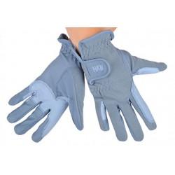 Jezdecké rukavice HKM Soft