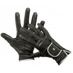 Jezdecké rukavice HKM Silver Stream