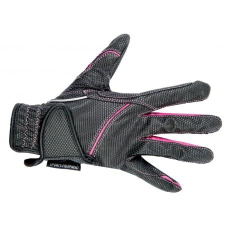 Dětské jezdecké rukavice HKM Fashion