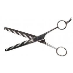 Nůžky na prostřihávání hřívy HKM